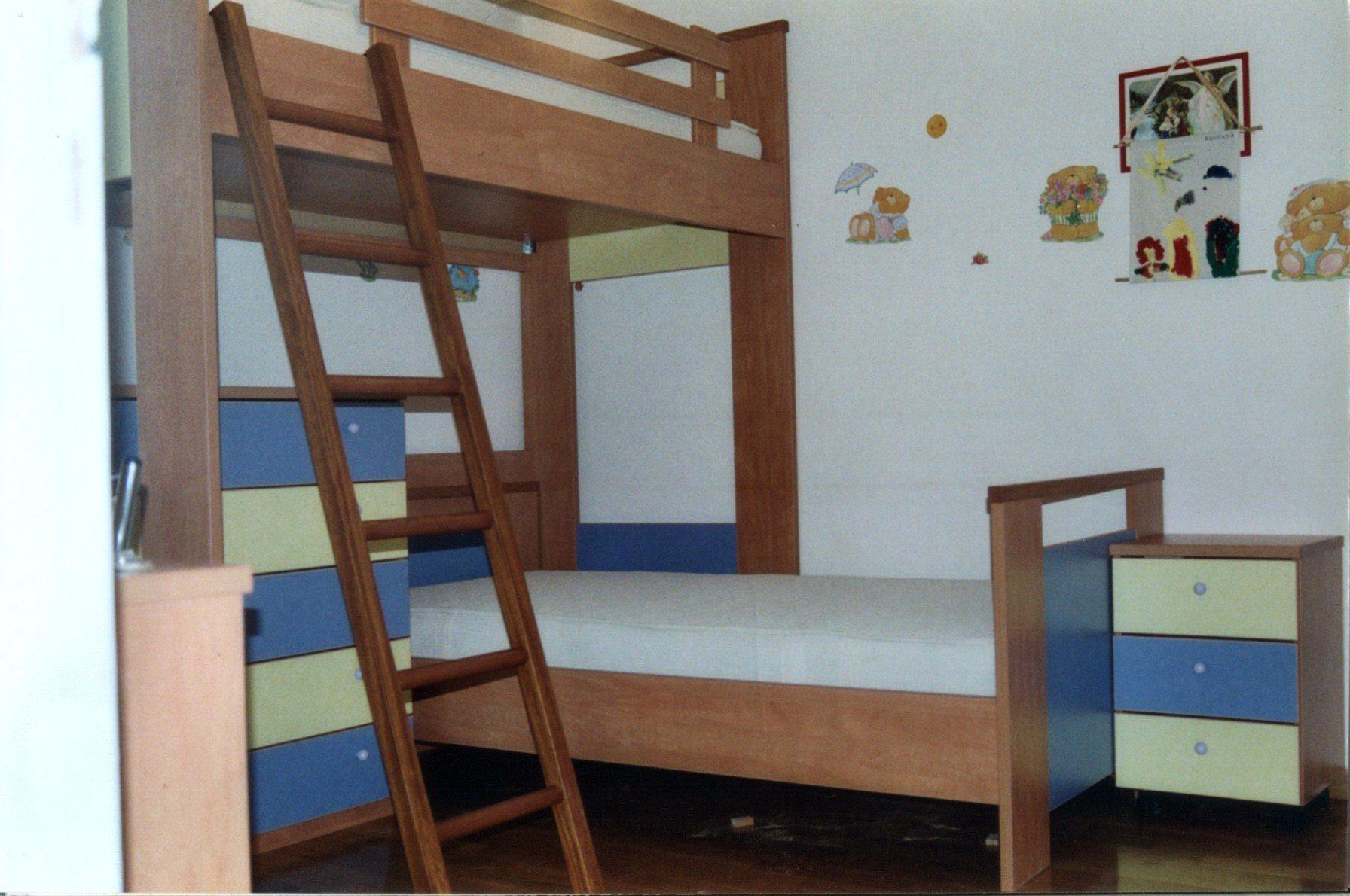 Κουκέτα με κρεβάτια μεγάλα ( 205 Χ 100 ).